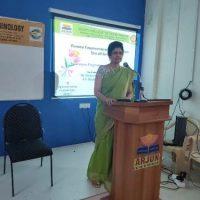 Session by Dr. S. M. Sridevi, M.B,B.S, M.D